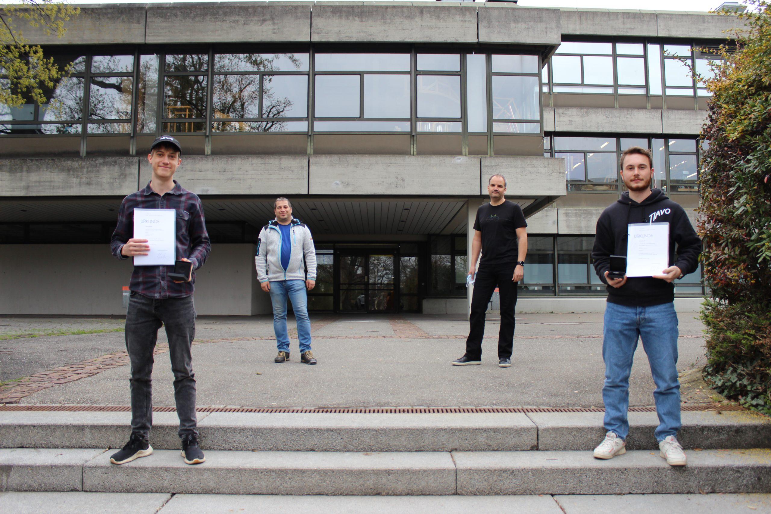 Preisträger beim 63. Schülerwettbewerb des Landtages Baden-Württemberg zur politischen Bildung